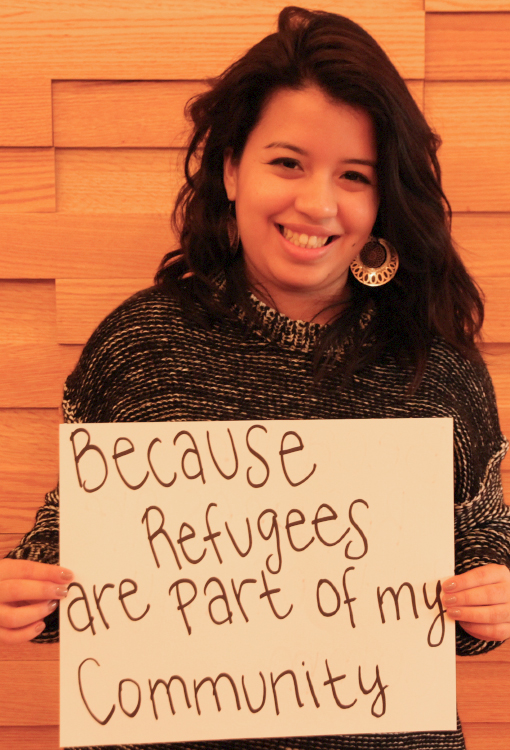 Because refugees are part of my community