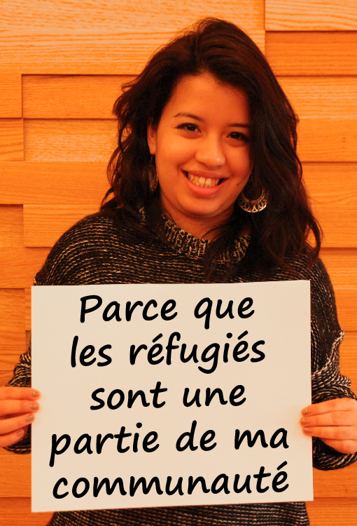 Parce que les réfugiés sont une partie de ma communauté
