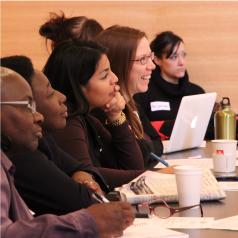 Des participantes aux rencontres des groupes de travail du CCR