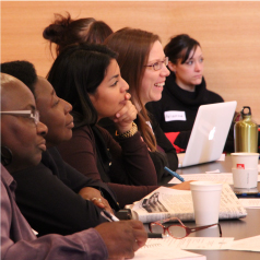 Participants at a CCR Working Group meeting
