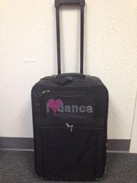 I♥Dance Suitcase
