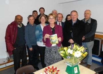 Christina Gardner and councillors at her last Surbiton Neighbourhood Committee meeting.