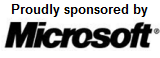 Proudly sponsored by Microsoft