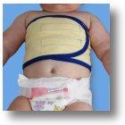 Brustwickel für Babys