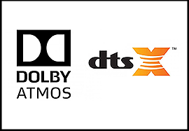Dolby Atmos & DTS X