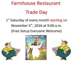 Farmhouse Restaurant Trade Day