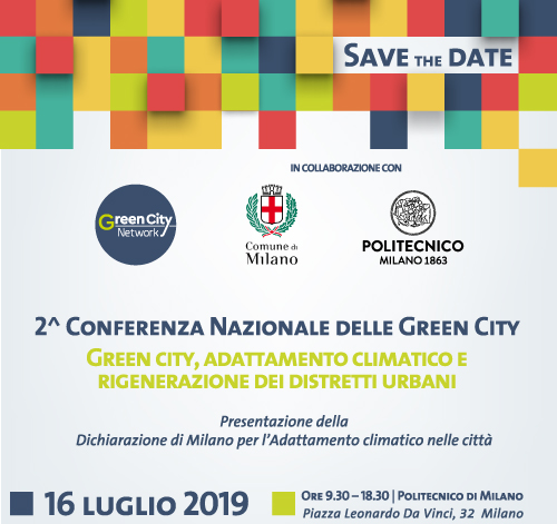 save the date conferenza green city