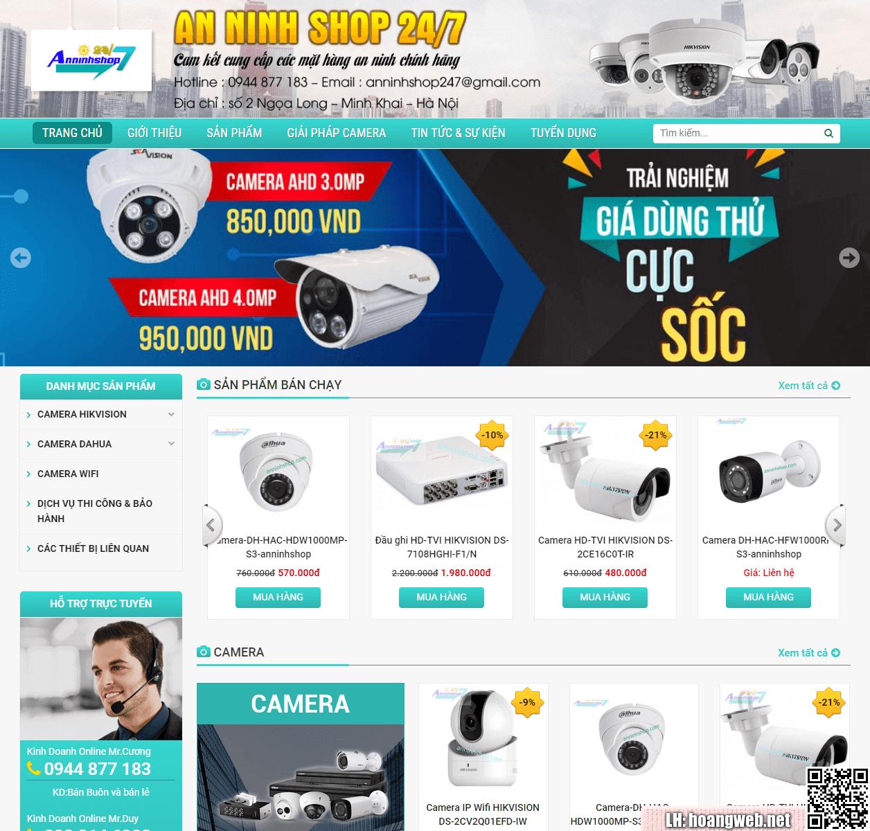Mẫu web camera thumbnail