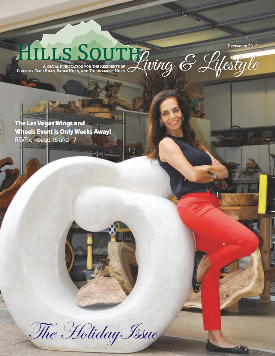 Dorit Schwartz Sculptor in Hills South Magazine