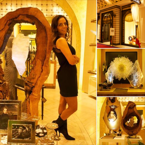 SUCCESS AT THE HOME STORE: 2 PIECES SOLD ON OPENING NIGHT! • Encore Esplande, Wynn • Las Vegas, NV