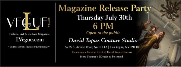 Magazine Release Party • Thursday July 30th