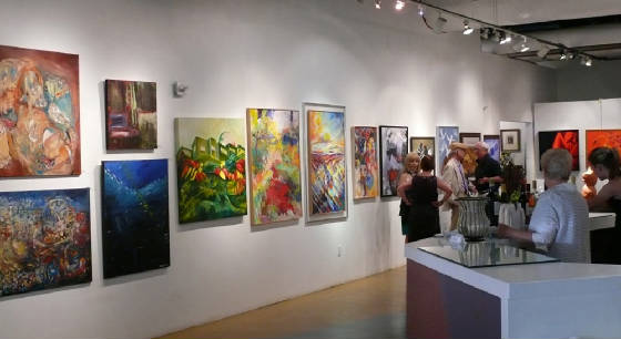 The Southern Nevada Museum of Fine Art - Art Exhibition Hall