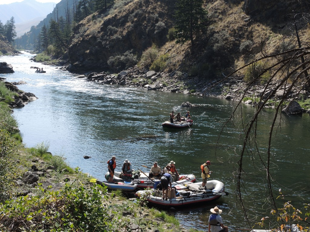 Middle Fork of the Salmon Rafting Expedition