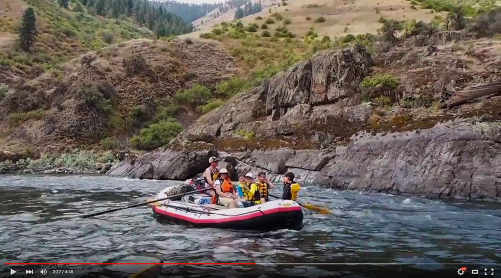 Salmon River Canyons Video