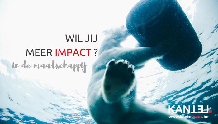 Wil jij meer impact in de maatschappij?