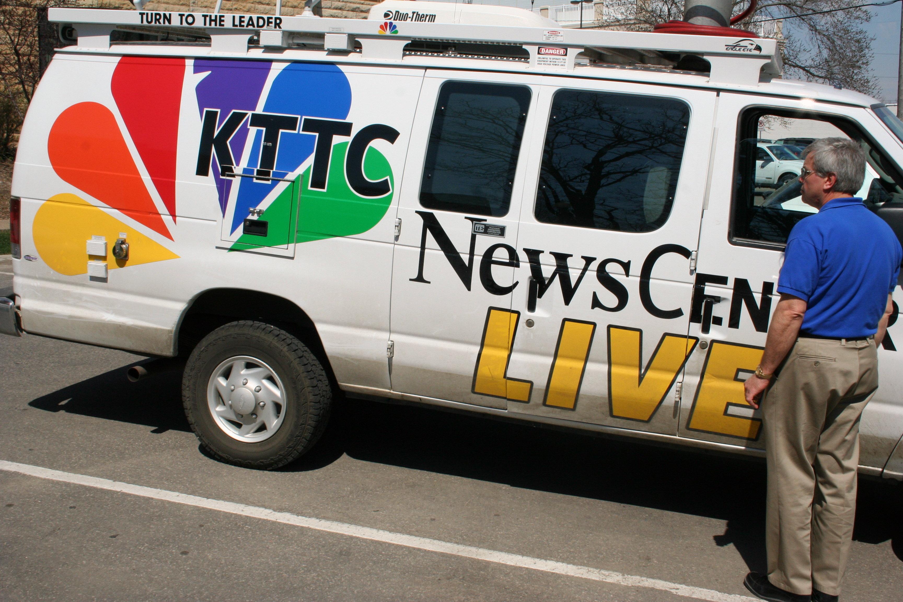 local news truck