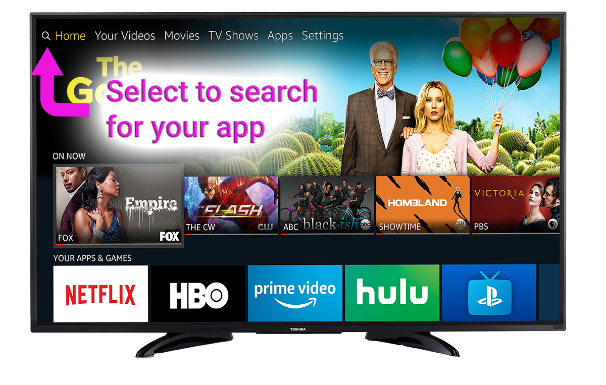 fire tv search