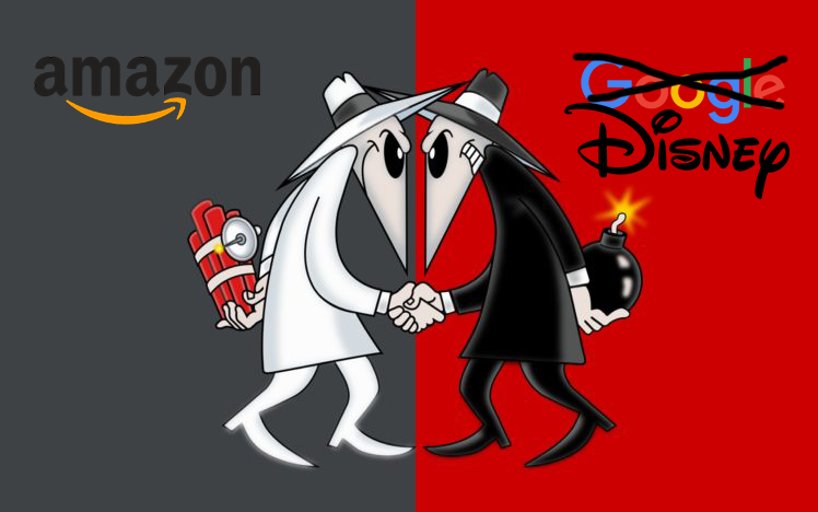 amazon vs disney