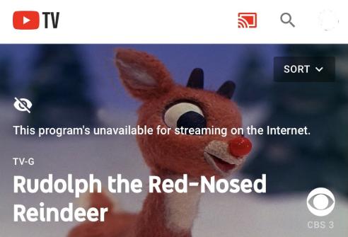 Rudolph streaming