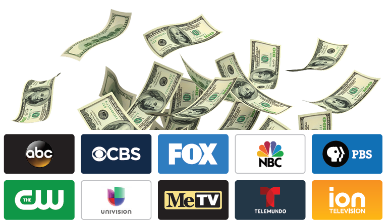 local broadcast channels money