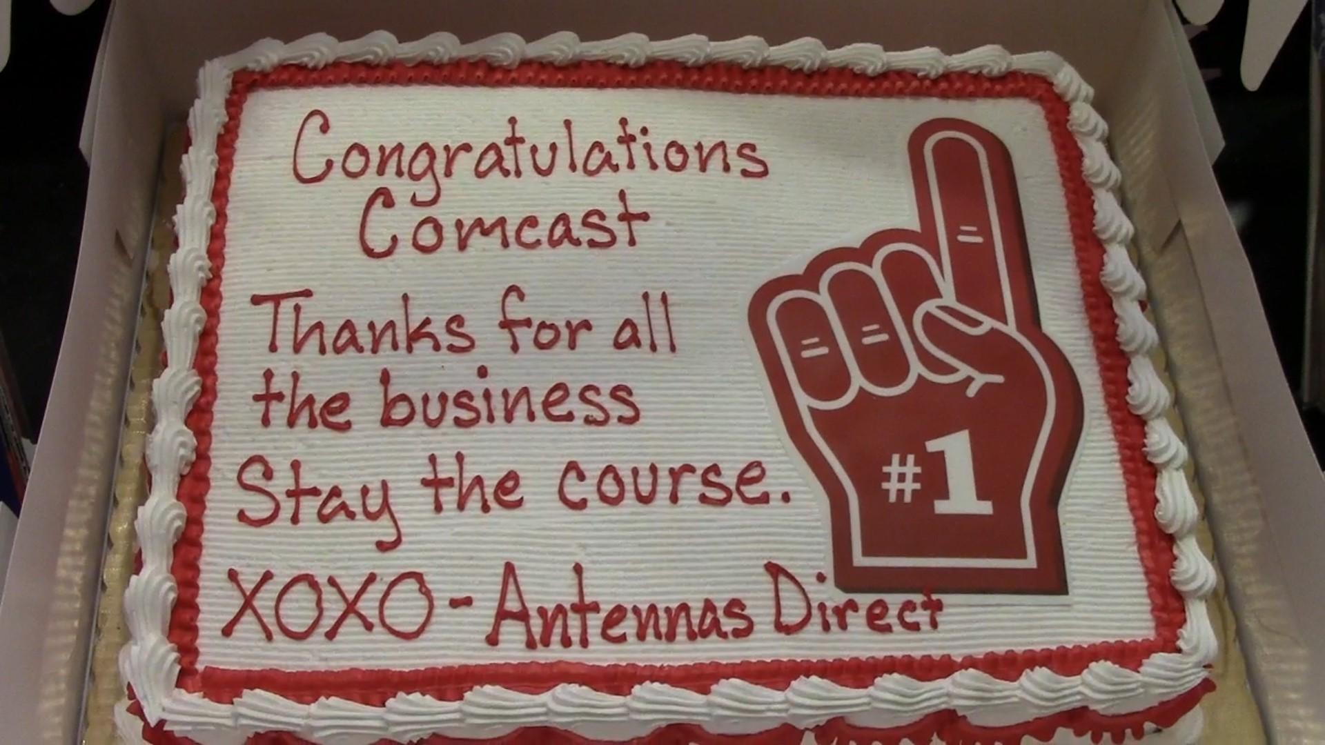 comcast cake