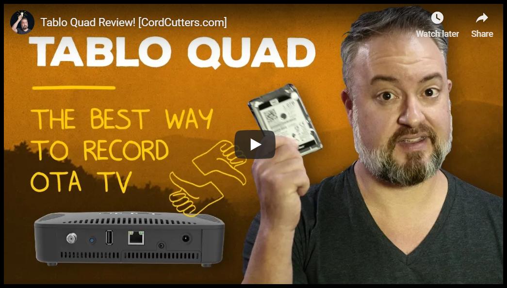 Tablo QUAD review video