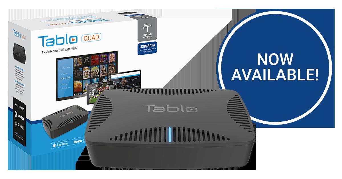 tablo quad now available