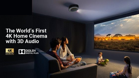 Just Launched Exclusive: A crystal clear 4K projector with a JAW-DROPPING 150-inch screen