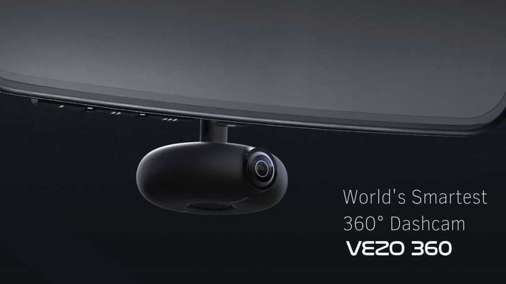 A wildly advanced 360° HD dash cam Image
