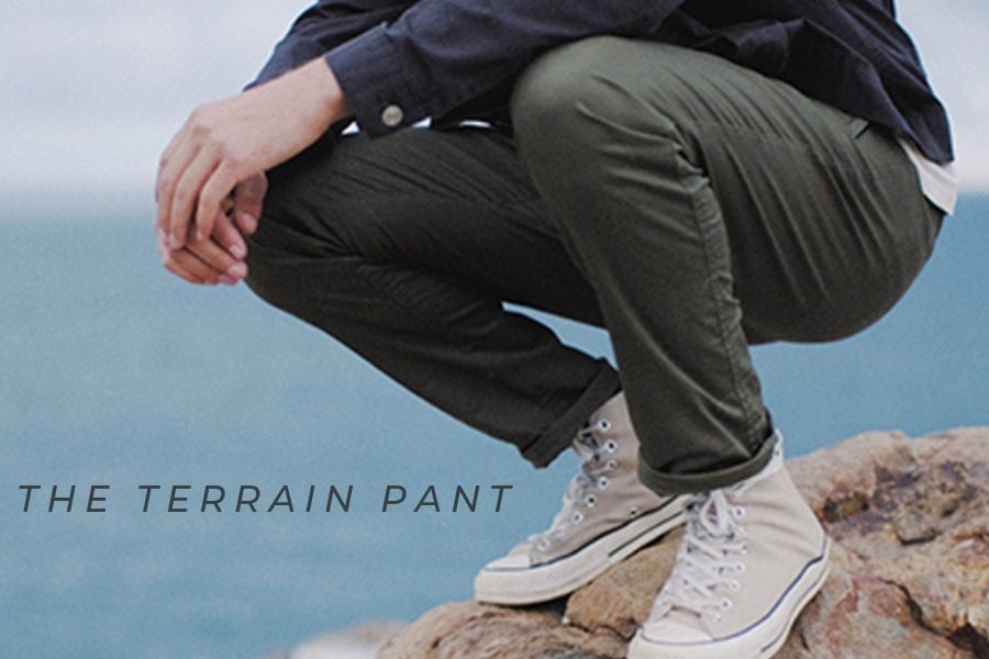 The ULTIMATE hybrid pants made with revolutionary Nano-Wing fabric that's amazingly forgiving