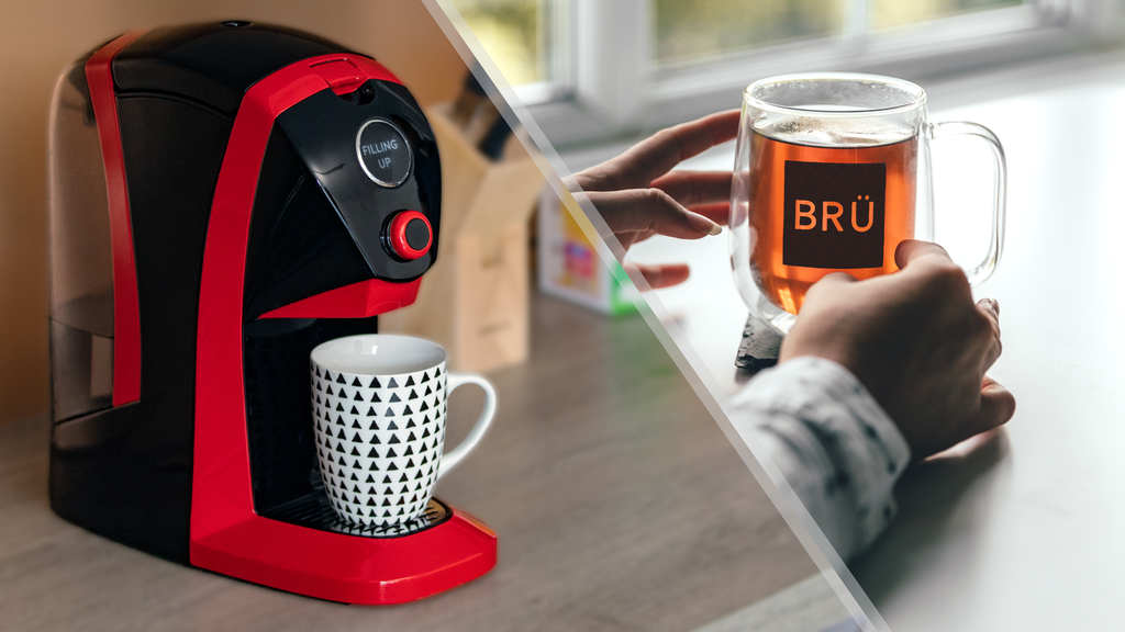 This SELF-CLEANING tea machine makes brewing fresh, delicious tea an absolute breeze
