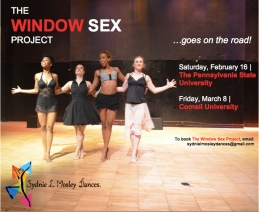Book The Window Sex Project!