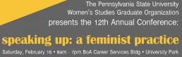 speaking up: a feminist practice
