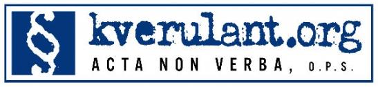 Logo Acta non verba (kverulant.org)