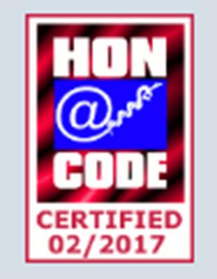 A-Fib.com HON certified 2017-2018