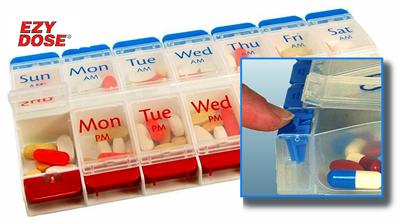 Pill organizer at A-Fib.com