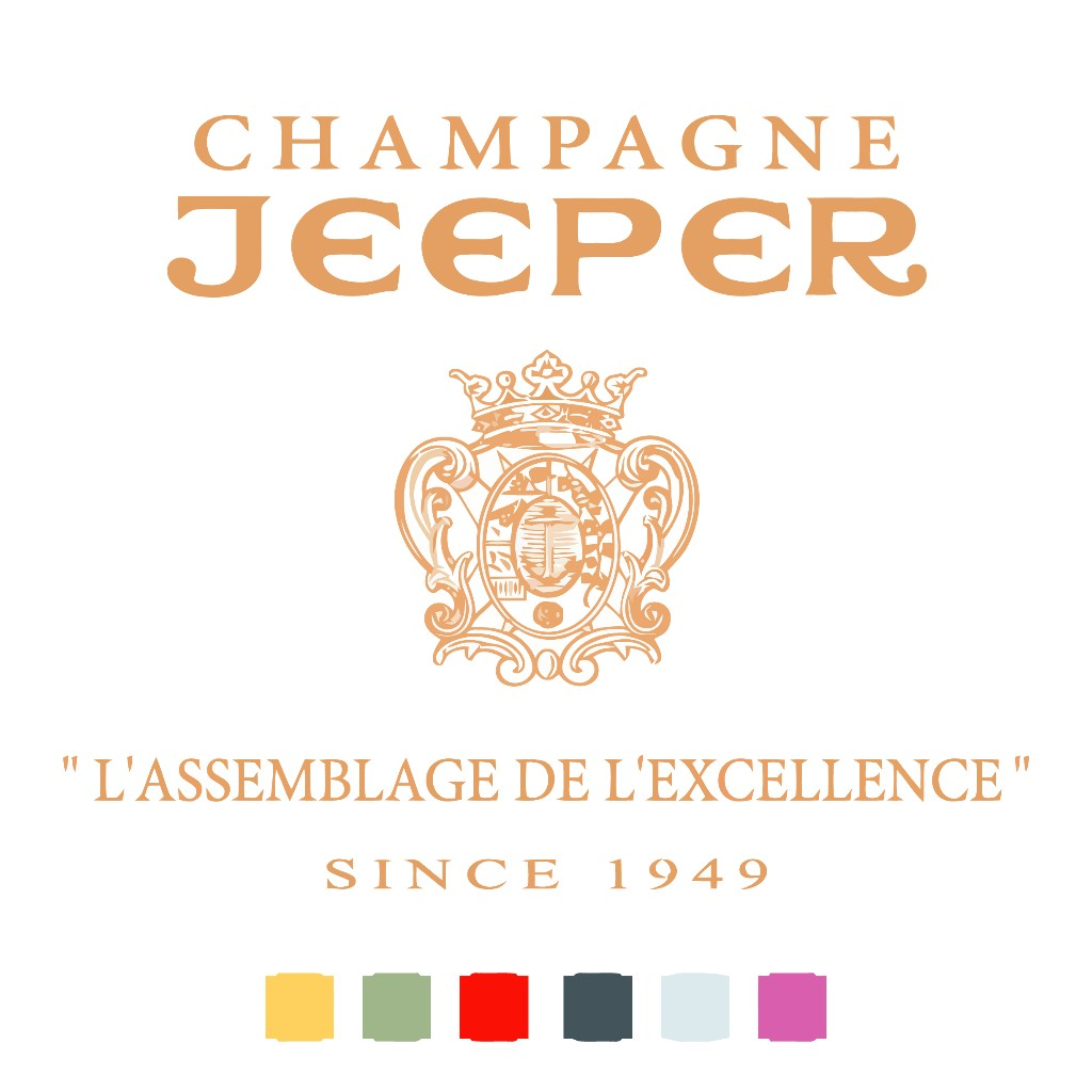 photo of champagne jeeper logo