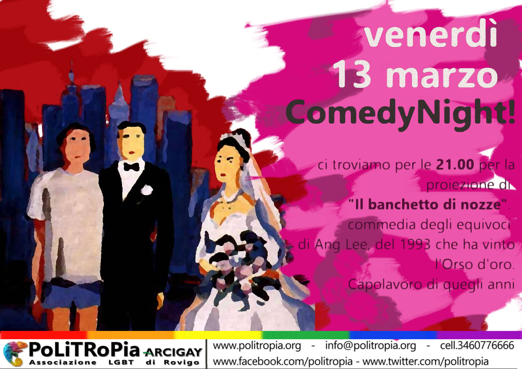 ComedyNight - film Il Banchetto di nozze
