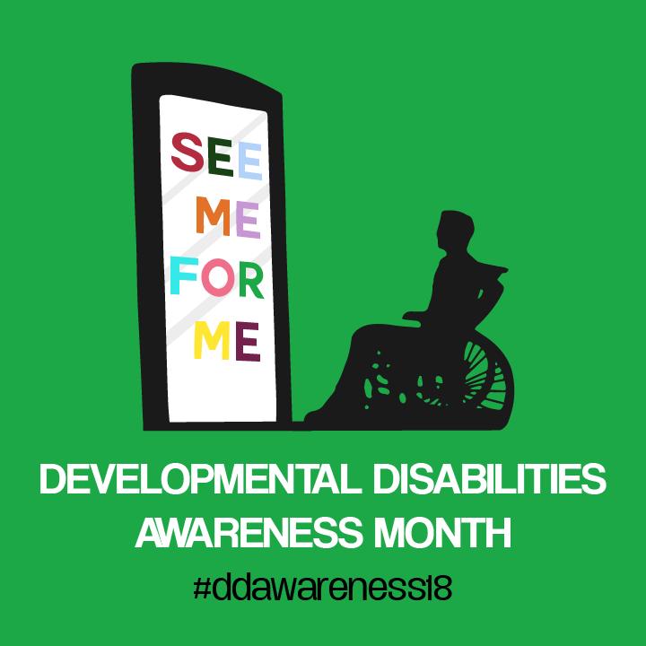 Developmental Disabilities Awareness Month Illustration