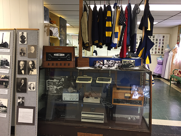 Historical items at Western Pennsylvania School for the Deaf
