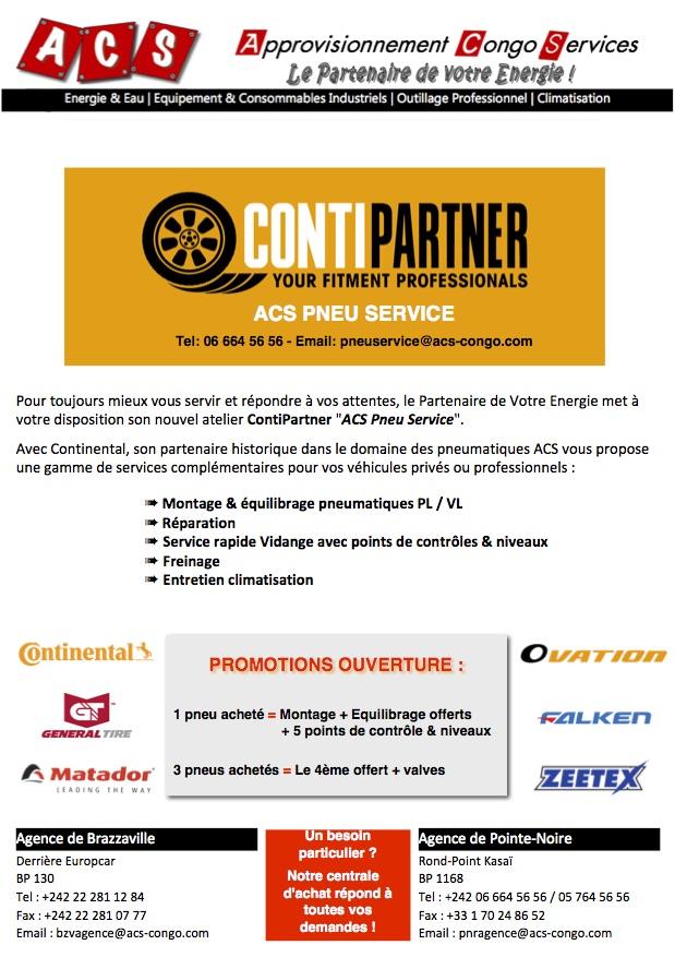ACS PNEU SERVICE, Votre nouveau service de vente/réparation/montage/équilibrage pneumatiques et entretien rapide en centre ville