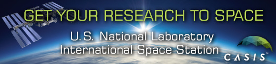 get your research to space Casis