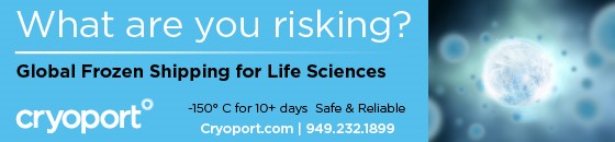 cryoport global frozen shipping for life sciences
