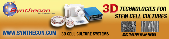 3d technologies for stem cell cultures