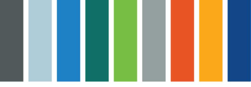 Graphic color bars