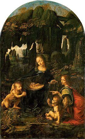 Virgin of the Rocks - Louvre