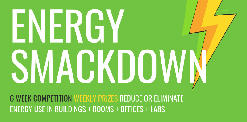 Energy Smackdown 6 week competition - weekly prizes