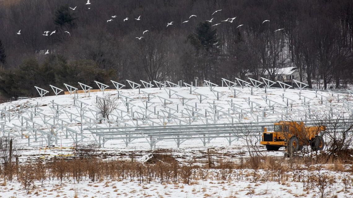 Cornell solar farm