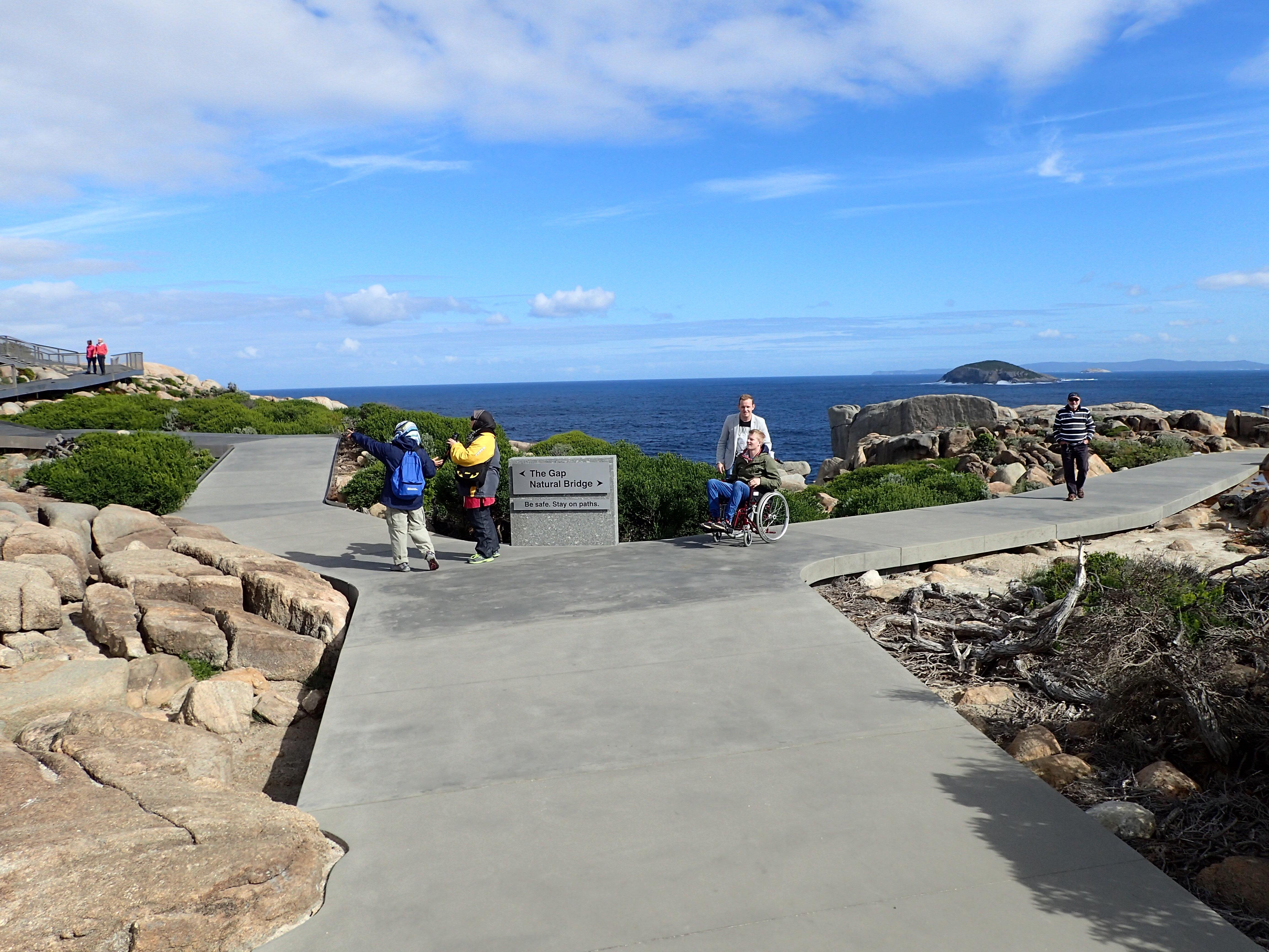 Access to Nature at The Gap and Natural Bridge