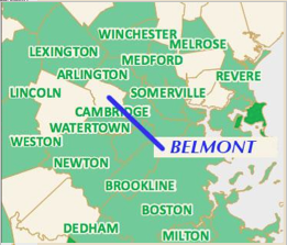 Belmont is surrounded by neighboring towns that have already been designated Green Communities.